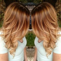Inspiration discovered by alexis. Warm toned blonde  @bloomdotcom
