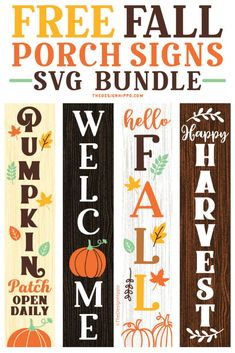 Fall Projects, Vinyl Projects, Diy Craft Projects, Diy Crafts, Front Porch Signs, Welcome Fall, Freebies, Cricut Craft Room, Cricut Tutorials