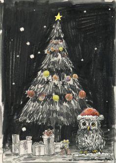 "Happy Holidays - by Will Kim  I wish everyone the happiest holidays ever!  http://willkimart.tumblr.com/  ©Will Kim ""Happy Holidays 2013"""