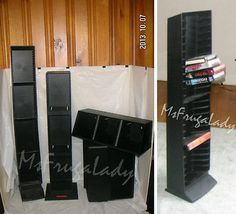 Select among available LASERLINE MEDIA-Holder  RACKS to hold your media-cases for CDs, DVDs, VHS Movies, DVD Movies, CASSETTE Tapes: Audio Tape, Beta, 8-Track  [Technology - MsFrugaLady on eBay, 30-Day Listing ends 2/25/2014]