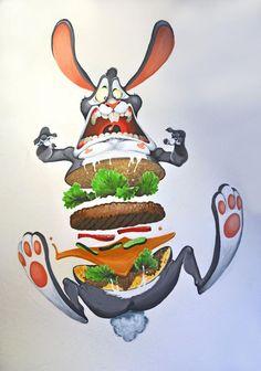 Rabbit-Burger
