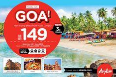 AirAsia perkenal destinasi unik ke-empat bulan ini ke Goa, India - http://malaysianreview.com/126593/airasia-perkenal-destinasi-unik-ke-empat-bulan-ini-ke-goa-india/
