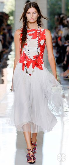 Tory Burch Spring 2013 wish i had a wedding to wear this to