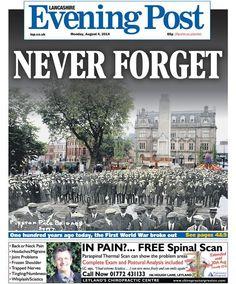 Lancashire Evening Post WWI