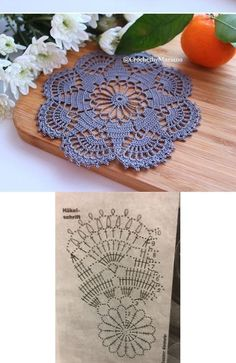 Одноклассники Crochet Doily Rug, Free Crochet Doily Patterns, Crochet Doily Diagram, Crochet Coaster Pattern, Crochet Snowflake Pattern, Crochet Dollies, Crochet Placemats, Crochet Snowflakes, Crochet Art