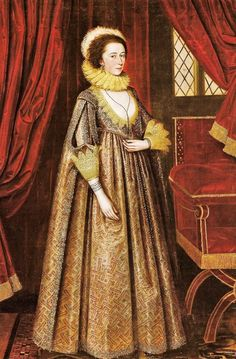 1620 Magdalen Pultney, later Lady Aston by Marcus Gheeraerts the Younger (plate 29 'A Visual History of Costume Valerie Cumming) Cumming dates this portrait circa 1619 Historical Costume, Historical Clothing, Fashion History, Fashion Art, 1500s Fashion, 17th Century Fashion, 16th Century, Renaissance, Art Costume