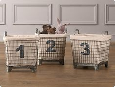Cute baskets and Liners