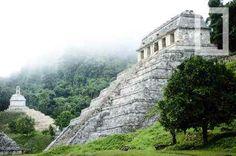A arquitetura maia tem caráter cerimonial, o que proporcionou o surgimento de estruturas suntuosas. As grandes plataformas eram feitas de pedras. As paredes, de terra batida e, depois, revestidas por pedra talhada ou argamassa. Os tetos tinham forma de falsa abóbada. Os exteriores de palácios e pirâmides apresentavam esculturas em suas decorações.