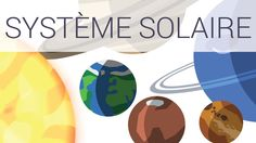LE SYSTÈME SOLAIRE | En 4 minutes Cycle 3, Sistema Solar, Space Theme, Home Schooling, Montessori, Homeschool, Learning, Youtube, The Unit