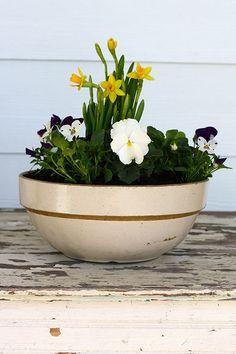 Farmhouse Flower Arrangement