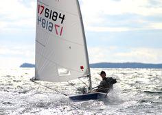 My first love….sailing My first love … sailing Ocean Sailing, Sailing Dinghy, Sailing Ships, Laser Sailboat, Sailboat Racing, Utility Boat, Cabin Cruiser, Set Sail, Small Boats