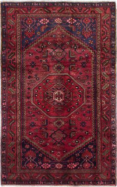 """Hand-knotted Persian Carpet 4'5"""" x 7'1"""" Asadabad Wool Rug...DISCOUNTED ! #Unbranded #TraditionalPersianOriental"""