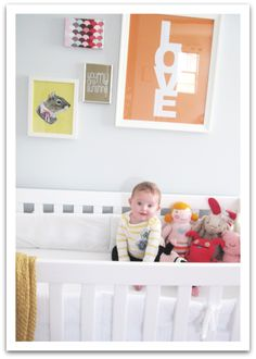 the cutest baby girl room decorating ideas Nursery Modern, Nursery Neutral, Modern Nurseries, Baby Girl Room Decor, Girl Nursery, Baby Decor, Big Girl Rooms, Baby Rooms, Kids Rooms