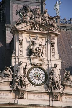 The Hôtel de Ville - City Hall - is a beautiful 19th century building in Renaissance style, modeled after the original 16th century building. It is located at the Place de Grève, near the Seine river.