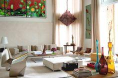 Luxury Duplex with Indoor Pool in Malibu ~ Interior Design Files