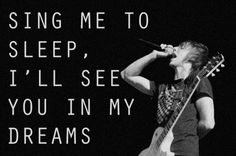 Lullabies - All Time Low One of my absolute favorite songs by them. Simply truthful & beautiful & courageous.