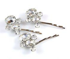 Set of 3 three Dream Wedding Hair Pins