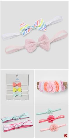 Shop Target for headwear you will love at great low prices. Free shipping on orders of $35+ or free same-day pick-up in store. Handmade Hair Bows, Diy Hair Bows, Bow Hair Clips, Hair Bow Tutorial, Flower Tutorial, Fabric Bows, Ribbon Bows, Ribbon Crafts, Fabric Crafts