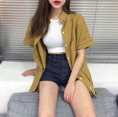 Dress red outfit street styles 25 ideas for 2019 Ulzzang Fashion, Asian Fashion, Look Fashion, Girl Fashion, Fashion Outfits, Womens Fashion, Fashion Trends, Korea Style Fashion, 90s Fashion