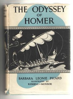 My old copy of Barbara Leonie Picard's The Odyssey. Where the journey started. photo Cath Mayo