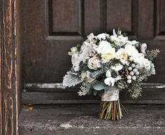 #Rustic #chic #bouquet for #winter