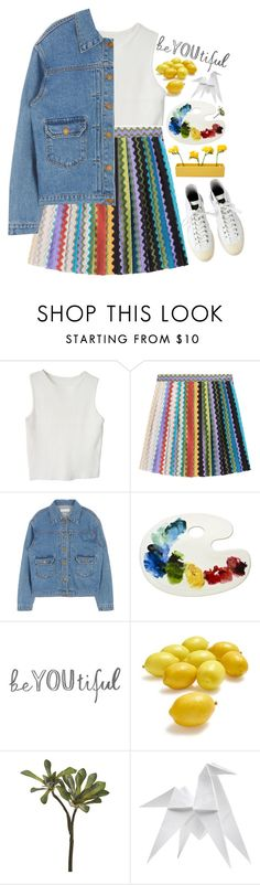 """OneRepublic-Life in Color"" by holunderbluete ❤ liked on Polyvore featuring Missoni, Sur La Table, CB2, Hermès, Dot & Bo and colorful"