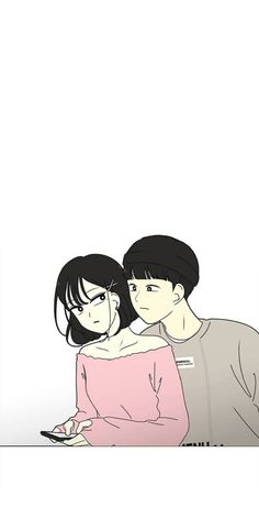 Anime Couples, Cute Couples, Minimalist Wallpaper, Online Manga, Anime Love, Aesthetic Anime, Webtoon, Art Sketches, Manhwa