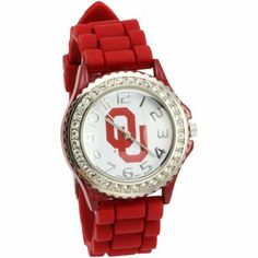 OU Sooners Women's Silicone Watch