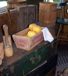 Sheepscot River Primitives - old box