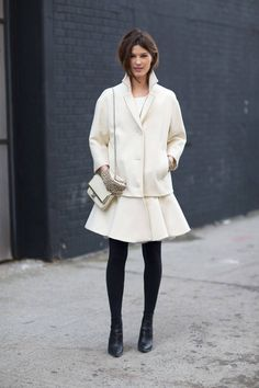 Get inspired by some of the best New York street style looks this season.