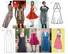 Lost in fabric: Free patterns