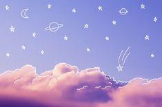 sky, clouds, and stars-bild