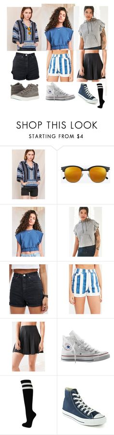 """""""Can you see what I see 🍬"""" by yabiog on Polyvore featuring Urban Renewal, Yves Saint Laurent, Silence + Noise, BDG, ASOS, Converse and Blowfish"""