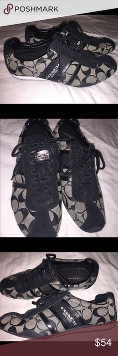 Women's Coach shoes size 8.5 Coach tennis shoes women's size 8.5 good condition Coach Shoes Sneakers