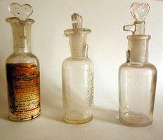Pharmacy bottles