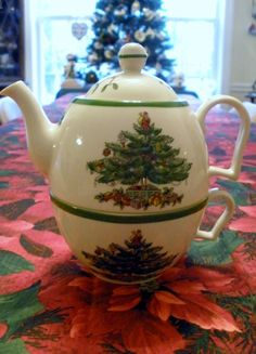 Tea for one Spode Christmas Tree