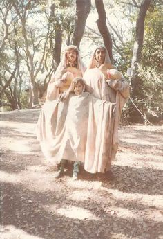 "Dale Allen, Gabriella Zim and Jaime Capo as ""Shapes"" in THE TEMPEST, 1980 #calshakes40th"