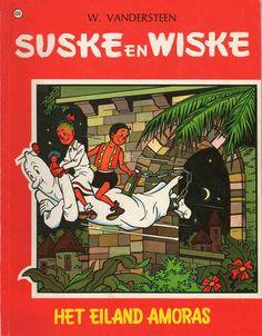 Suske en Wiske #68  Het Eiland Amoras  De Nieuwe Standaard van 19 december 1945 tot en met 13 mei 1946.
