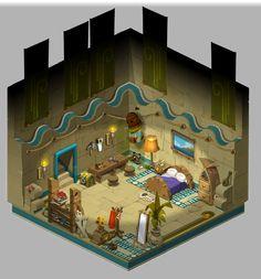 Sufokia House 02 / Sufokia Maison 02 - Dofus by Weequays.deviantart.com on @deviantART