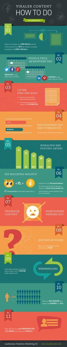 #markenmut #ViralerContent #infographic #socialmedia #facebook