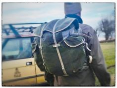 Recon #2: reconditioned norwegian army rucksack - large capacity