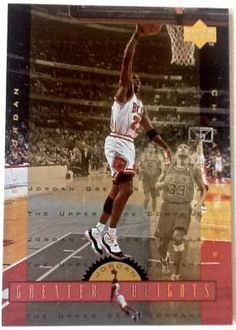 MICHAEL JORDAN ~ (5)  CARDS ~ GREATER HEIGHTS ~ FREE SHIPPING