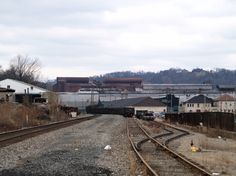 Rail Line To Allegheny Ludlum Steel Mill (Brackenridge, PA). My grandfather was a foreman here.