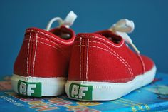 I loved my red PF Flyers. They made you run faster and jump higher