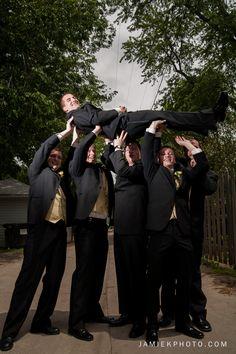 Groomsmen - Groom - Poses for groomsmen - Wedding Party - Jamie K! Photography