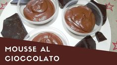 MOUSSE AL CIOCCOLATO -VEGAN- con solo due ingredienti-