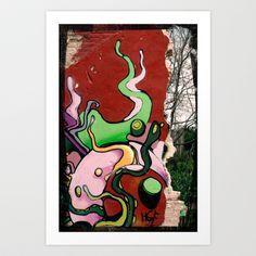 A wall Art Print by Plasmodi - $14.00 Wall Art Prints, Photo Art, Street Art