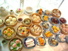 Miniature Food - Chinese Dim Sum