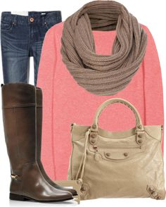 pink, boots. <3 nude baggg