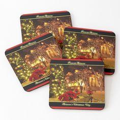 Prescott Arizona, Cold Drinks, Coaster Set, Art Prints, Printed, City, Awesome, Christmas, Photography